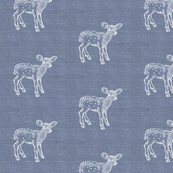Dear Deer, Silver Linen