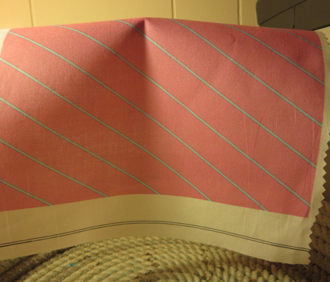 Pink and Blue Wide Stripe