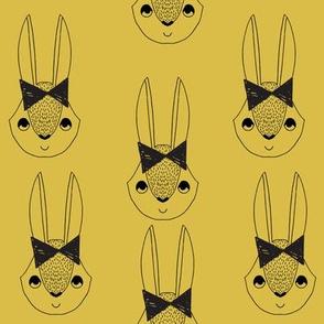 Bunny Bow - Mustard by Andrea Lauren