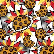 Pop art choco chip
