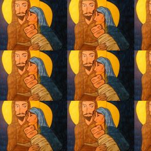 Joseph, Mary & Baby Jesus