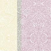 "lilac-mauve 6"" mendhi stripe"