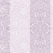 "mendhi stripe - 3"" mauve and cream"