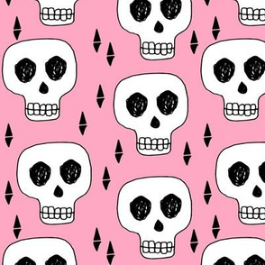 skull // skulls pink scary halloween creepy scary spooky halloween
