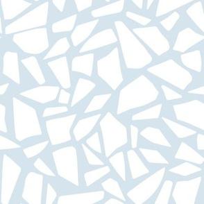 Polar Ice Floe : Icy Blue Grey