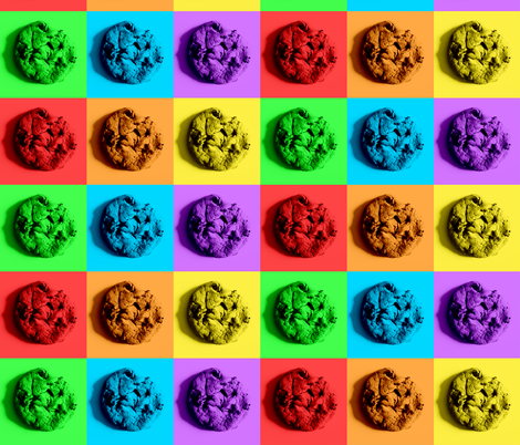 Colorful Cookie Composition