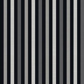 Midi Leaf - Stripe mono