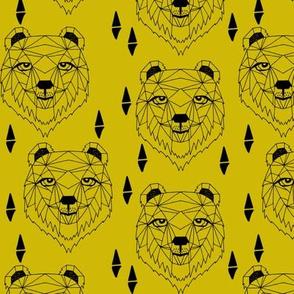 Barney Bear - Mustard by Andrea Lauren