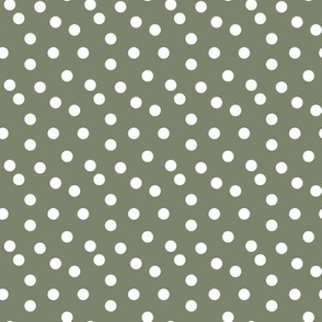 Camping Dots Coordinate - Rustic - Sage by Andrea Lauren