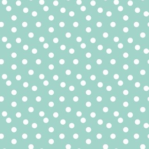 Camping Dots - Mint by Andrea Lauren