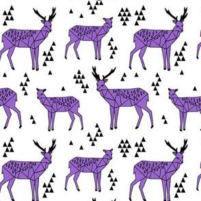 Geo Deer - Amethyst by Andrea Lauren