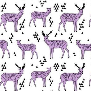 Geo Deer - Wisteria by Andrea Lauren