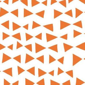 Bow Tri - Tangelo Orange by Andrea Lauren
