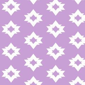 Aztec - Lilac by Andrea Lauren