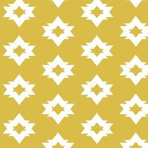 Aztec - Mustard by Andrea Lauren
