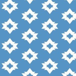 Aztec - Cerulean Blue by Andrea Lauren