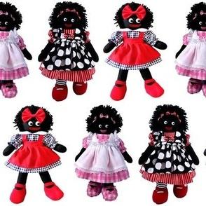 Golliwogs, mammy dolls