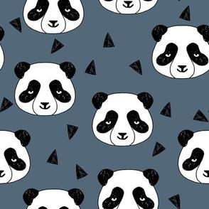 Hello Panda - Payne's Grey by Andrea Lauren