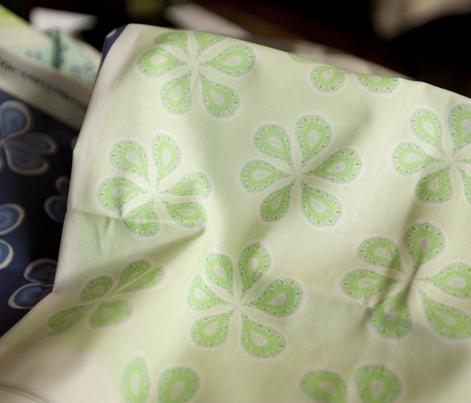 Groovy Mint Green Paisley