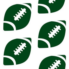 Half-Drop Football Packers Green