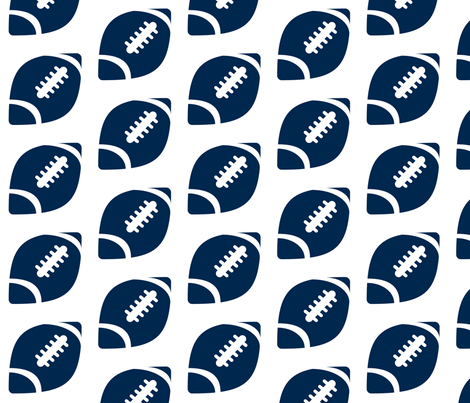 Half-Drop Football Cowboys Blue