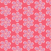 Groovy Watermelon Paisley Flower Power