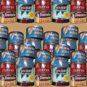 Dean's Vintage Coffee Cans