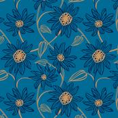 Velvet Queen - Blue
