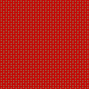 Poop with a red background