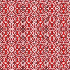 Holiday Joy Red White