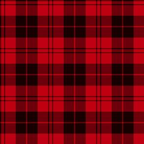 Campbell red tartan
