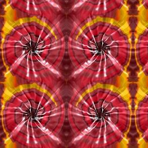 Fiery Tie Dye