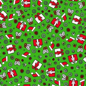 Santa Robot's Presents (Green)