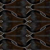 Escher Inspired Foxes