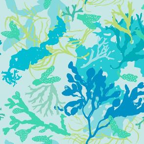 Botanical Beach Seaweed - kinda blue