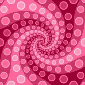 tentacle sucker spiral 3 : pink
