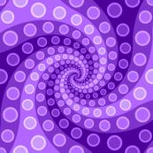 tentacle sucker spiral 3 : violet