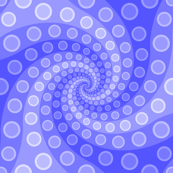 tentacle sucker spiral 3 : sapphire blue