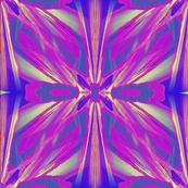 blue pink purple floral watercolor