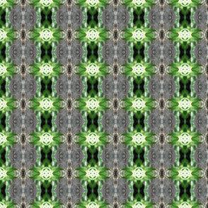 Rainforest Tree Sprites - Small Scale Border Print (Ref. 4070)
