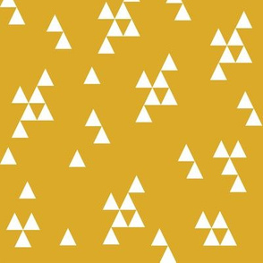 Simple Triangle - Golden Yellow by Andrea Lauren