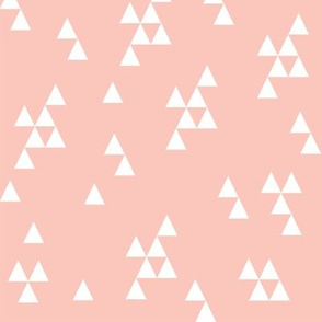 Simple Triangle - Pale Pink by Andrea Lauren