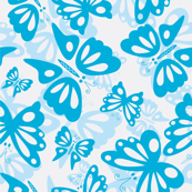 Swarms of Blue Butterflies