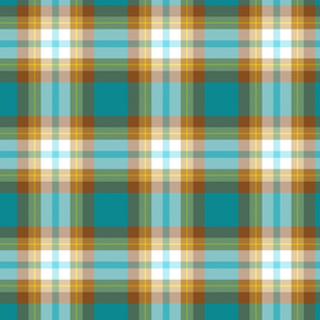 TealAndBrownPlaids
