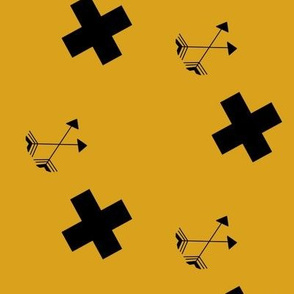 flying arrows mustard