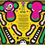 "30"" Clown Monkey Doll Plush (yard)"