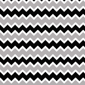black grey gray chevron zigzag pattern