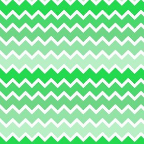 mint green ombre chevron zigzag pattern
