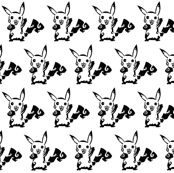 Pikachu black n' white