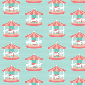 Carousel-Fabric-Vector